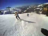 SKI SIERRA NEVADA 2009-2012 snow skiing crashes resort boarding border radical extreme (not)