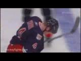 Donald Brashear vs Brendon Shanahan(hockey fight)