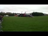 Newport motorcycle stunts
