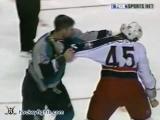 Jody Shelley vs Scott Parker Feb 23, 2004