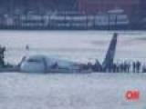 US Airways Flight 1549 Crash Lands in Hudson River – Raw Video