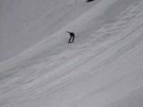 Speed Skiing & Crash